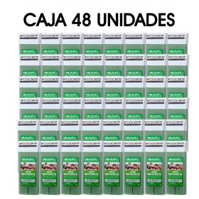 Caja 48 unidades Roll On Cera 100ml - Argan Verde