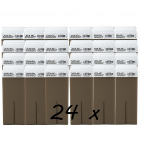 Pack 24 x Roll On Cera 100ml - Chocolate