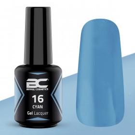 BC Gel Lacquer Nº 16 - Cyan - 15ml