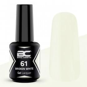 BC Gel Lacquer Nº61- Broken White - 15ml