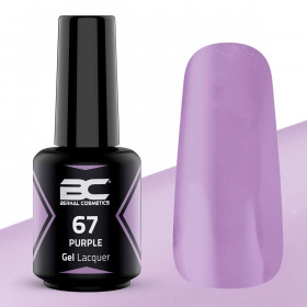 BC Gel Lacquer Nº67- Purple - 15ml