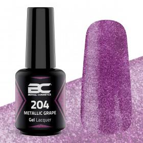 BC Gel Lacquer Nº204 - Metallic Grape - 15ml